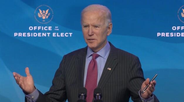 US President-elect Joe Biden introduces his economic team, Wilmington, Delaware, USA - 08 Jan 2021