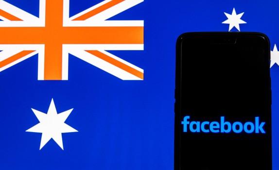 Facebook Australia legi media