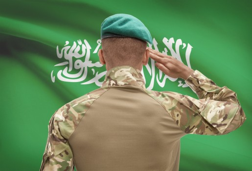 soldat Arabia Saudita militar arab