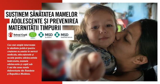 Salvati Copiii - MSD for Mothers