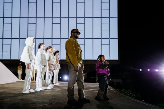 Yeezy Season 8 show, Runway, Fall Winter 2020, Paris Fashion Week, France - 02 Mar 2020