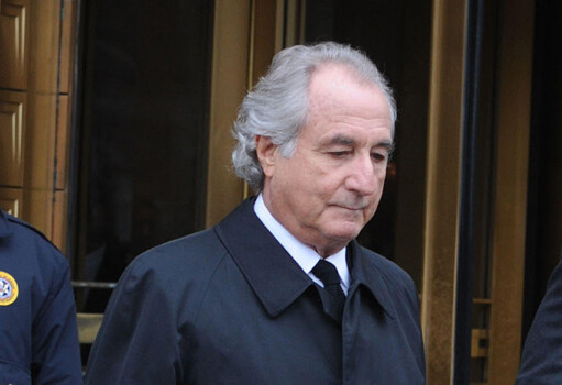 **FILE PHOTO** Bernie Madoff Has Passed Away. Bernard Madoff seen at Federal Court for a hearing about any potential conflicts of interests regarding his lawyer this afternoon in New York City. March 10, 2009. Credit: Dennis Van Tine/MediaPunch