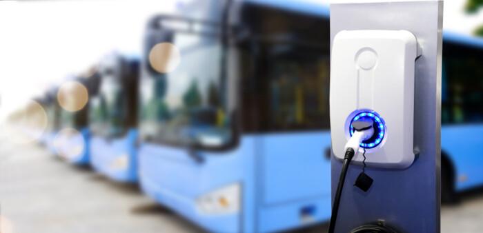 autobuze electrice statie de incarcare
