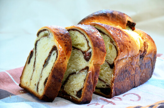 Romanian,Traditional,Sweet,Bread,,Cozonac
