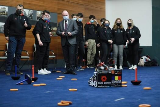 echipa de robotica