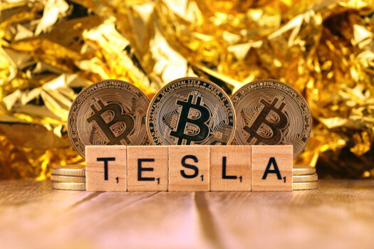 Tesla si Bitcoin