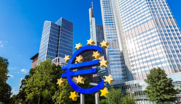 Frankfurt,,Germany,-,July,9:,Euro,Sign.,European,Central,Bank