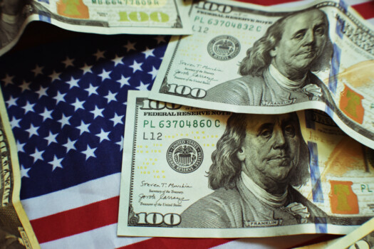 SUA bani dolari