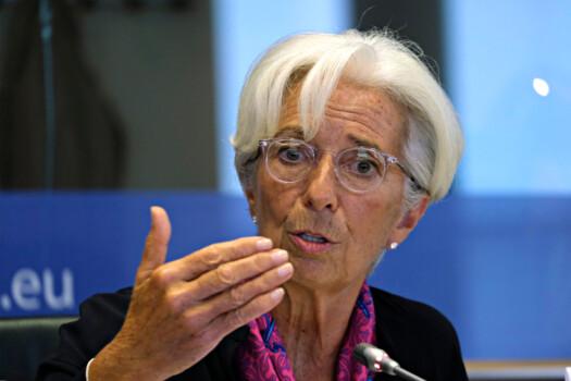 Brussels,,Belgium.,4th,Sep.,2019.,Christine,Lagarde,,President-designate,Of,The