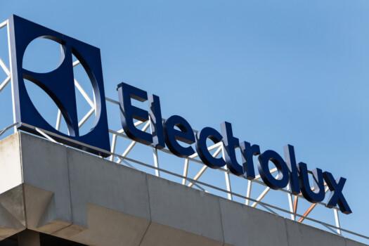 Madrid,,Spain,-,March,9,,2019.,Electrolux,Logo,On,Electrolux