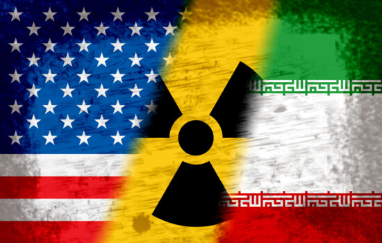 Iran,Nuclear,Deal,Flags,-,Negotiation,Or,Talks,With,Usa.