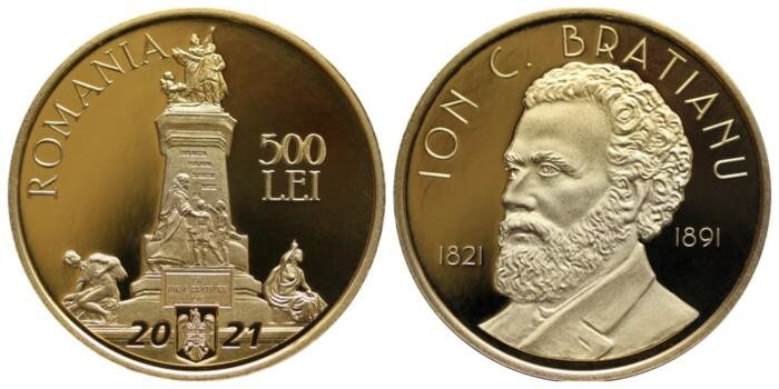 moneda Ion C Bratianu