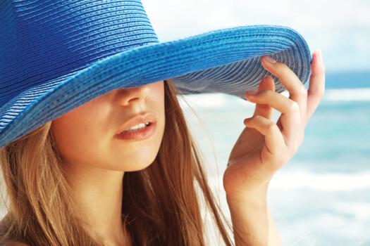 Woman,Wearing,Hat