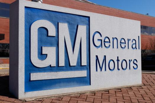 Marion,-,Circa,March,2019:,General,Motors,Logo,And,Signage
