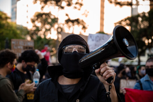 Black,Lives,Matter,Protest,In,Brazil