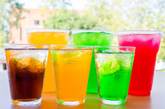 Colorful,Soft,Drinks,In,The,Glass.