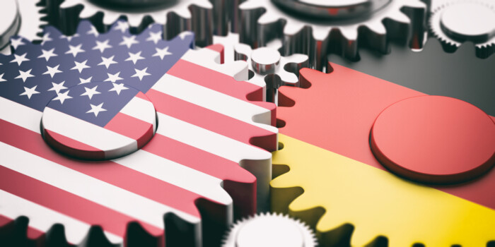 Germany,And,Usa,Relations,Concept.,Germany,And,Us,Of,America
