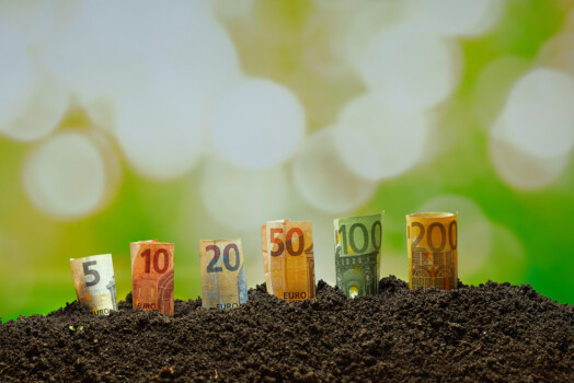 Euro,Funds,For,Agriculture,,Euro,Bills,From,5,To,200