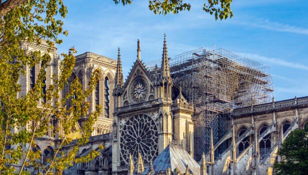 Notre,Dame,Of,Paris.,On,April,15,,2019,,A,Violent